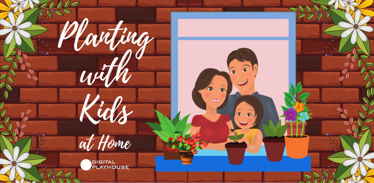 planting with kids at home
