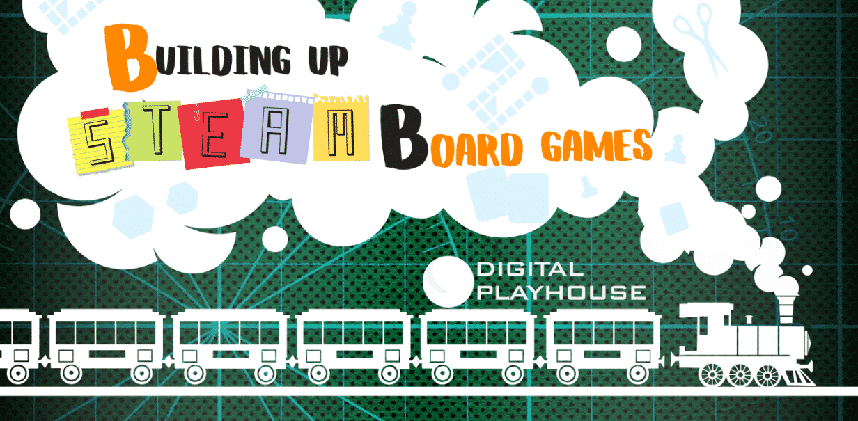 Building Up STEAM Board Games